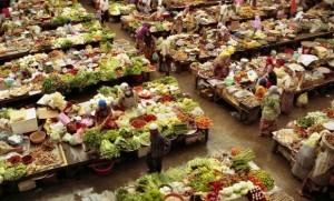 Kota Bharu market, Malaysia